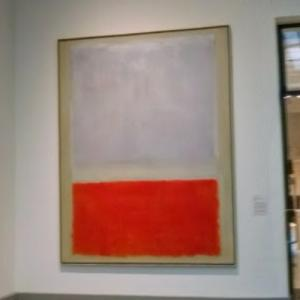 'Lilac and Orange over Ivory' by Mark Rothko (StreetView)