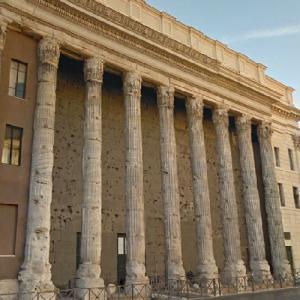 Temple of Hadrian (StreetView)