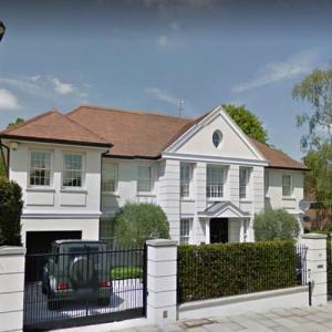 Mesut Özil' house (StreetView)