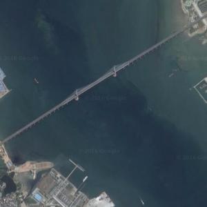 Zhanjiang Bay Bridge (Google Maps)