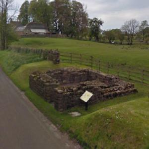 Hadrian's Wall - Leahill Turret (StreetView)