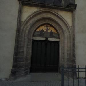 Door of the Theses in Wittenberg (StreetView)