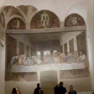 """Leonardo da Vinci's """"The Last Supper"""" (StreetView)"""