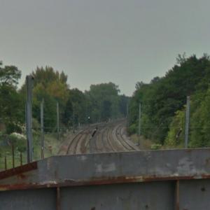 Hatfield rail crash (StreetView)
