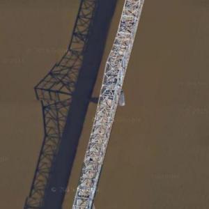 George Rogers Clark Memorial Bridge (Google Maps)