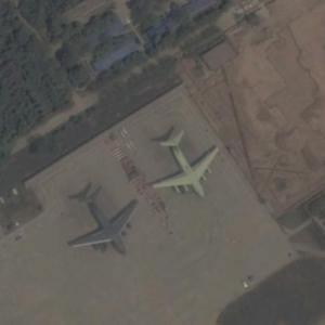New Chinese Cargo plane (Google Maps)