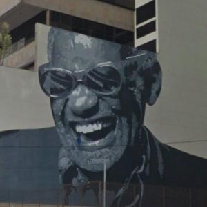 Ray Charles' mural (StreetView)