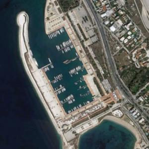 Agios Kosmas Olympic Sailing Centre (Google Maps)
