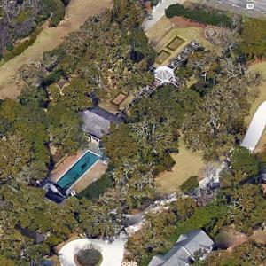"""""""Rose Bay"""" - Sandy and Kreis Beall's House (former) (Google Maps)"""