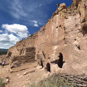Puye Cliff Dwellings (StreetView)