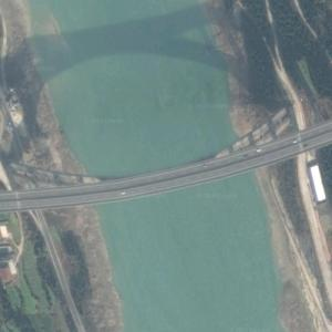 Zhaohua Jialing River Bridge (Google Maps)
