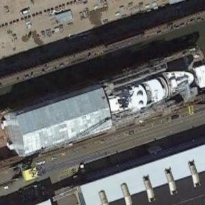 The yacht Le Grand Bleu (Google Maps)