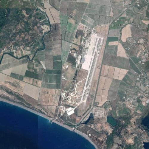 Dalaman Airport In Dalaman, Turkey (Google Maps