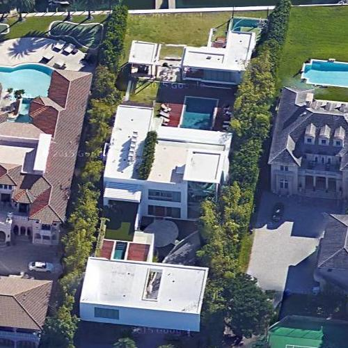 victor malzoni's house in miami beach, fl (google maps)
