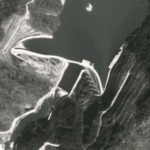 Dagangshan Dam (Google Maps)