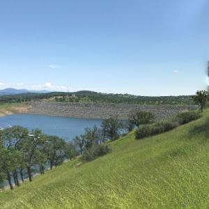 New Don Pedro Dam (StreetView)