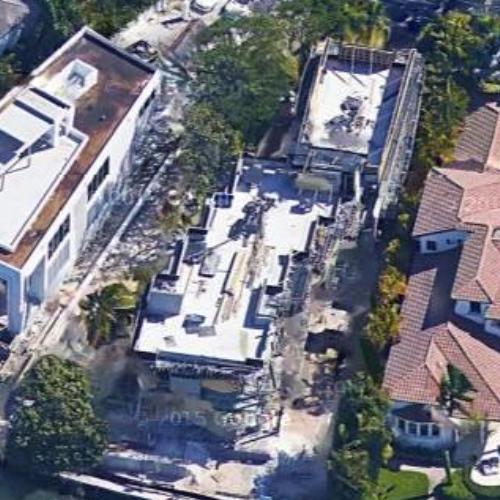 kylie jenner's rental house in miami beach, fl (google maps)