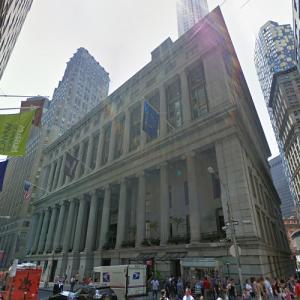 55 Wall Street (StreetView)