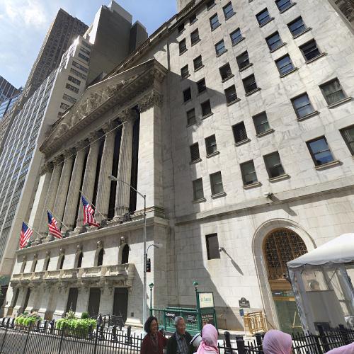 New York Stock Exchange (StreetView)