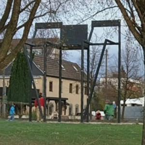'Die Wachter' by Lars Ulrich Schnackenberg (StreetView)
