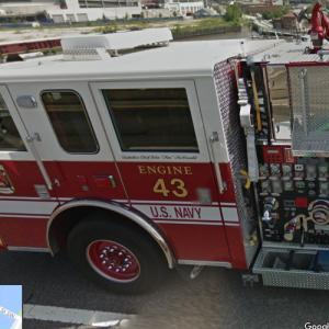 Firetruck Engine 43 - U.S. Navy (StreetView)