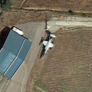 F-104S-ASA (Google Maps)