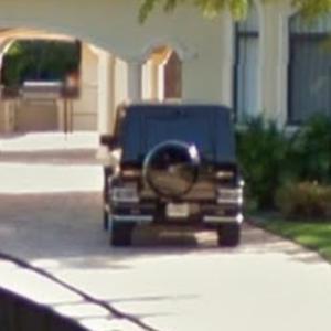 Carlos Boozer's G-Wagon (StreetView)