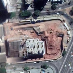 Nexus Shopping & Business under construction (Google Maps)