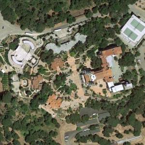 Hearst Castle (Google Maps)