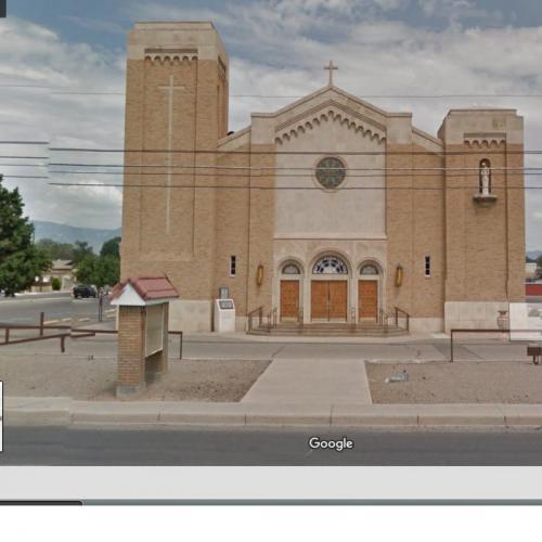 St. Therese of the Infant Jesus in Albuquerque, NM (Google Maps) on mapquest albuquerque, area code map albuquerque, photography albuquerque, paradise hills albuquerque, zillow albuquerque, microsoft albuquerque,