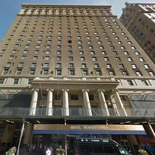 Hotel Pennsylvania in New York, NY (Google Maps)