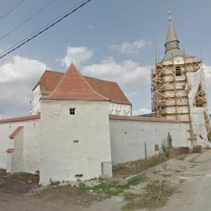 Dârjiu fortified church (StreetView)