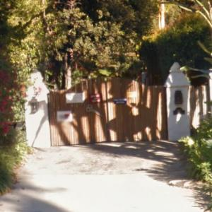 Carrie Fisher's House (StreetView)