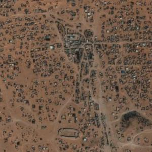 Auserd refugee camp (Google Maps)