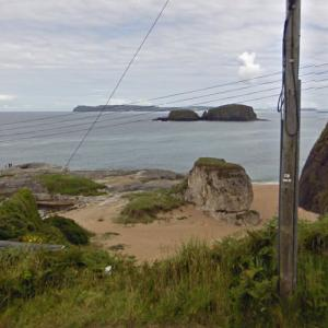 "Ballintoy Beach (""Game of Thrones"") (StreetView)"