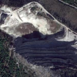 "Žrnovnica Quarry (""Game of Thrones"") (Google Maps)"