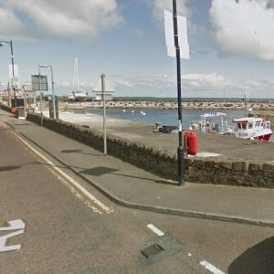 "Carnlough Harbour (""Game of Thrones"") (StreetView)"
