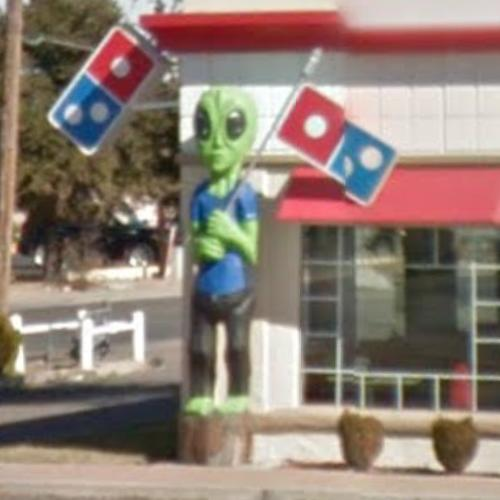 Alien in Domino's Pizza in Roswell, NM (Google Maps) on dominos printable menu, dominos fundraiser form, dominos hours, dominos pizza menu,