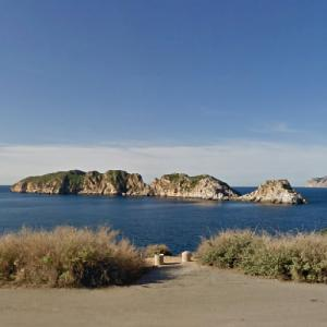 Malgrats islands (StreetView)