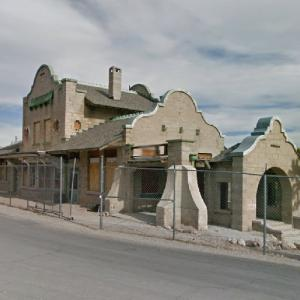 Las Vegas and Tonopah Railroad (StreetView)
