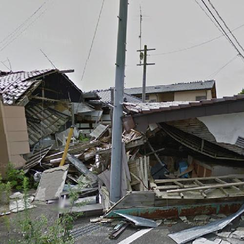 Destroyed house (2011 Tōhoku earthquake) (StreetView)