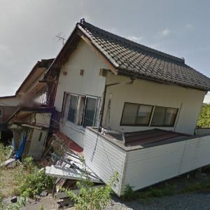 Destroyed building (2011 Tōhoku earthquake) (StreetView)
