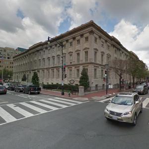 'General Post Office, Washington, D.C.' by Robert Mills (StreetView)