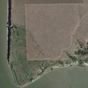 Crow Creek massacre site (Google Maps)