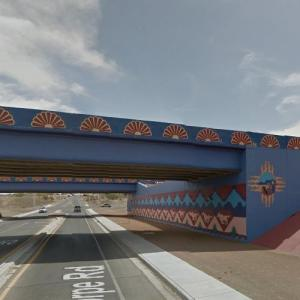 Painted Underpass (StreetView)