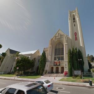 "First United Methodist Church (""Back to the Future"") (StreetView)"