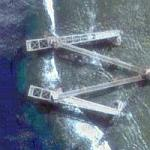 Nauru south cantilever loaders (Google Maps)