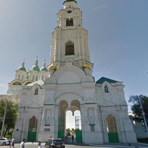 Astrakhan Kremlin - The cathedral bell tower (StreetView)