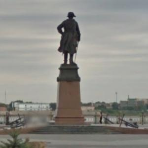 Peter The Great Monument (StreetView)