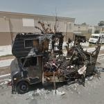 Fire Destroys Motorhome